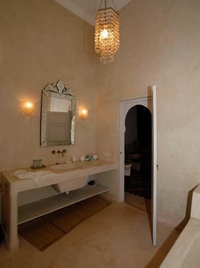 Salle de bain ivoire