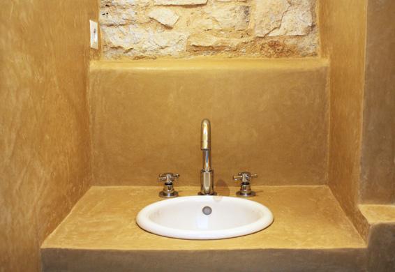 Salle de bain sienne