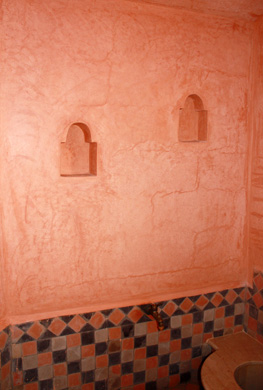 Hammam rouge orange